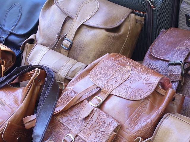 bolsos de cuero